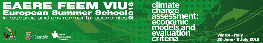 EAERE-FEEM-VIU European Summer School 2018